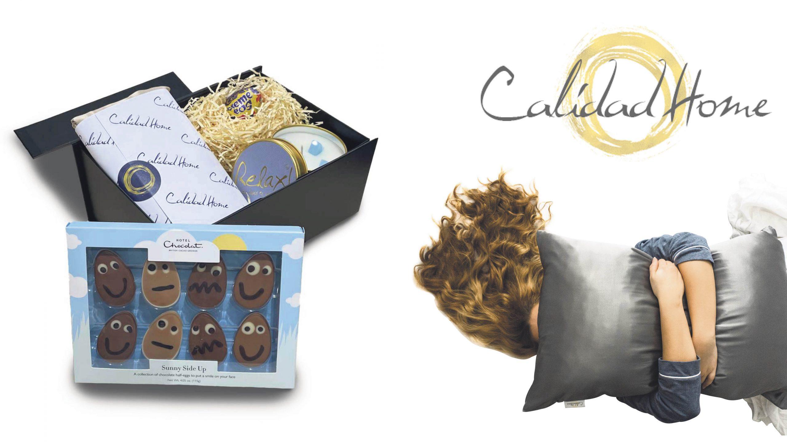 Win a luxury silk pillowcase Easter box Worth £134.95!