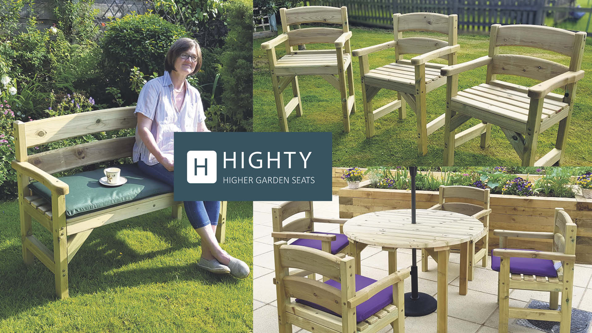 Win garden furniture your joints will thank you for Worth £500!