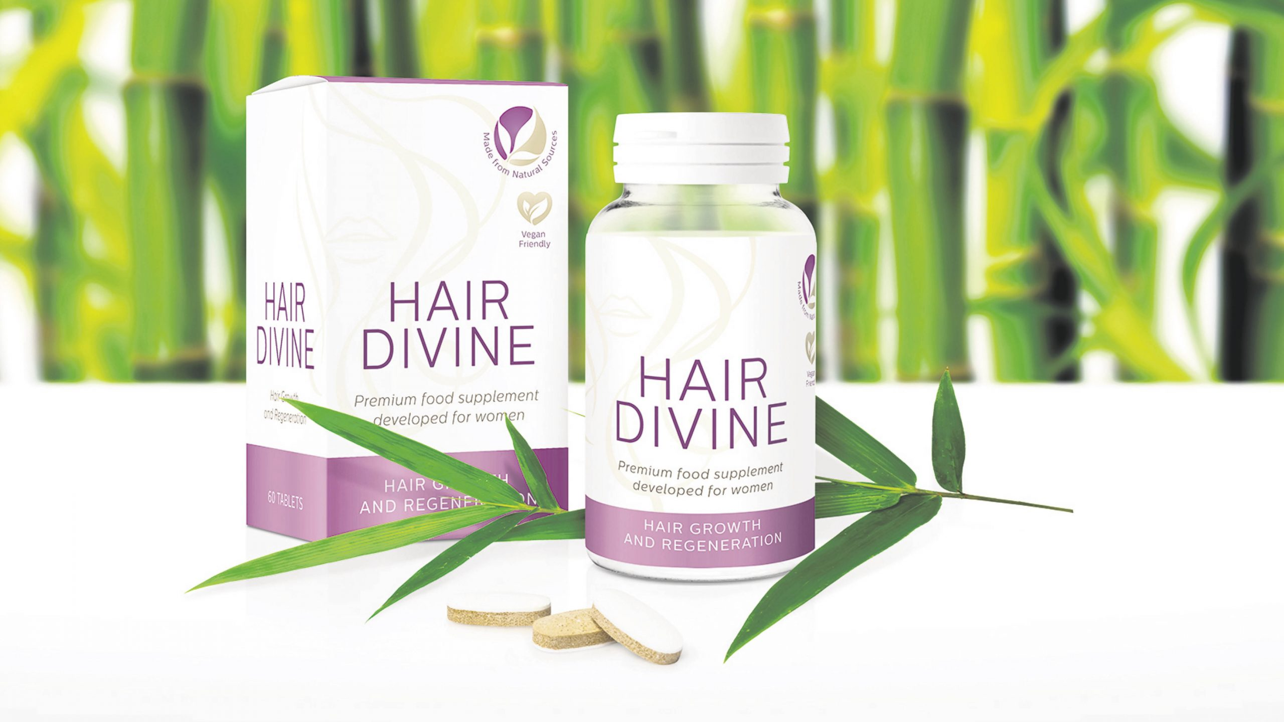 Win a four-month supply of Hair Divine Worth almost £50!