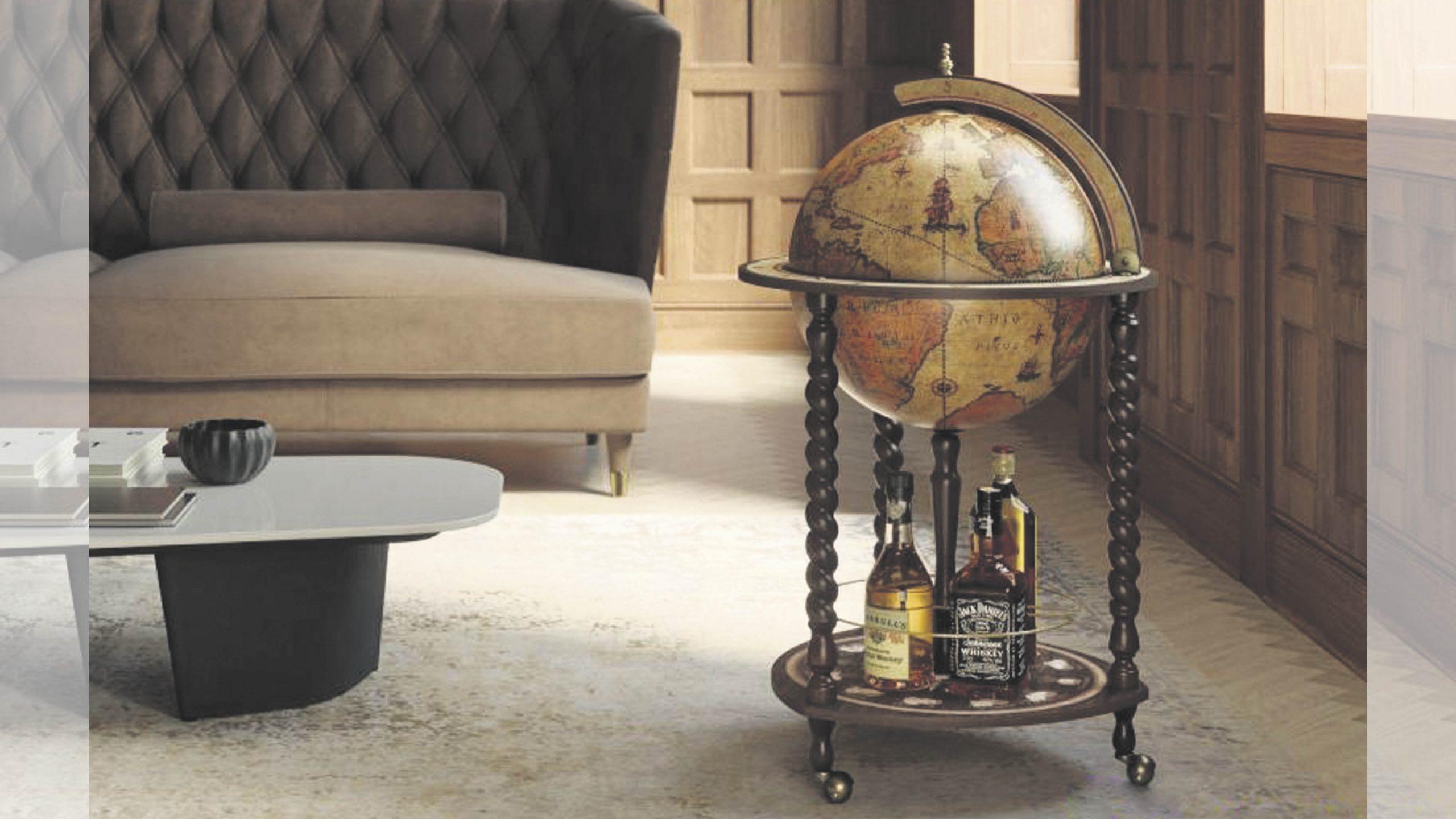 Win a handcrafted, Italian-made Globe Bar Worth £275!