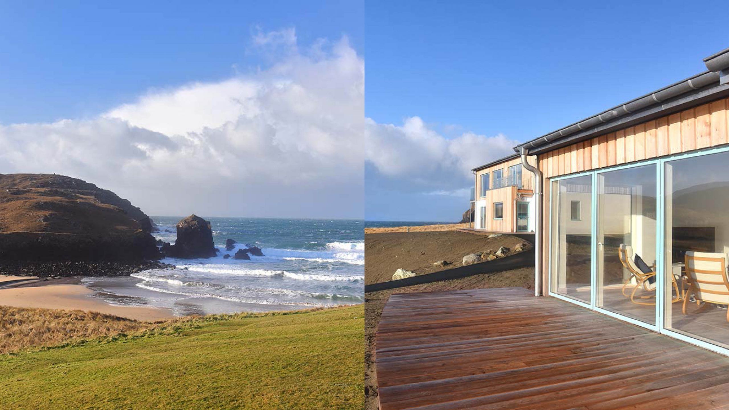 Win a voucher for a luxury holiday house for two in the Isle of Lewis Worth £250