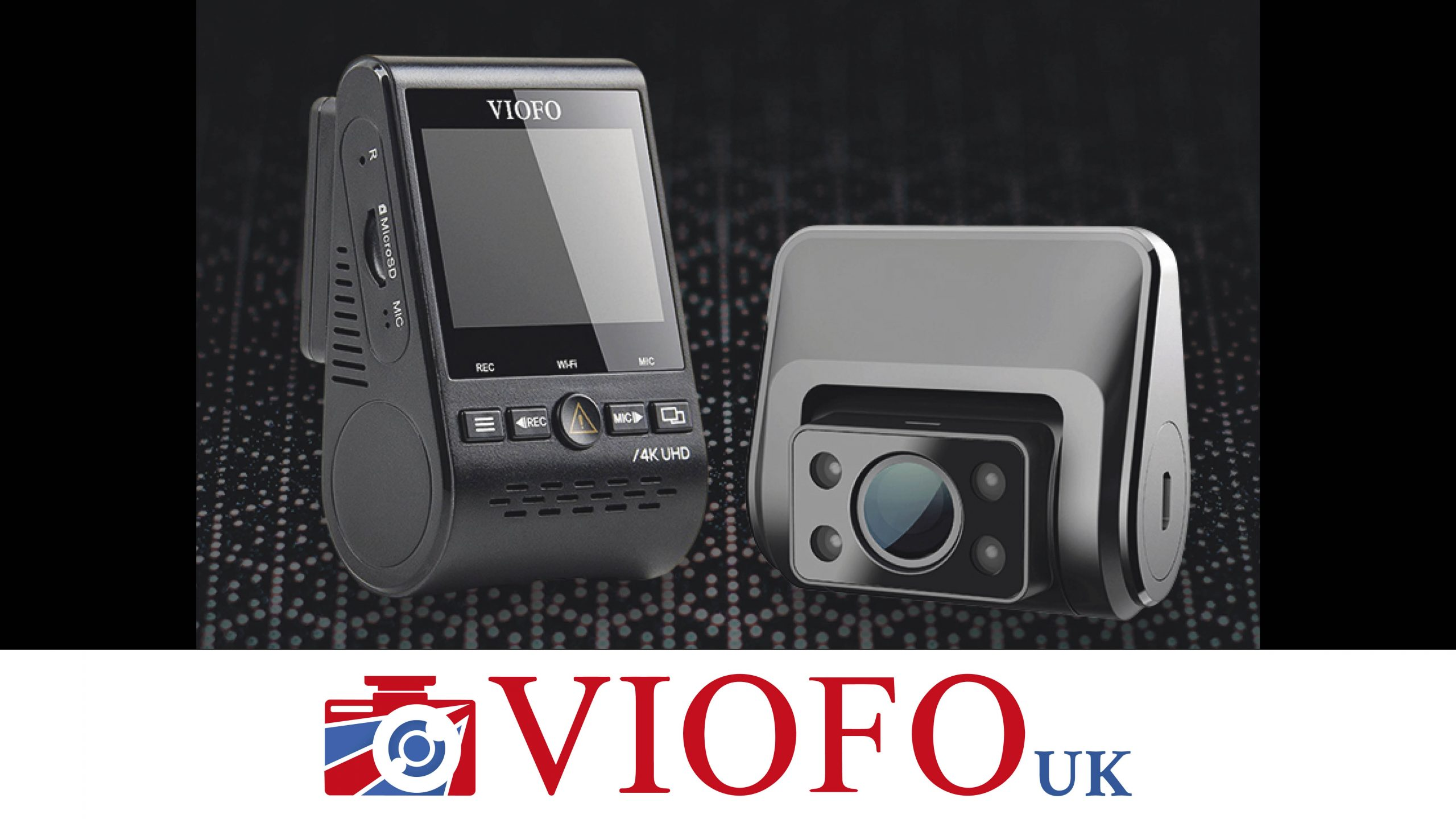 Win a 4K dual dash camera to keep you safe on the road Worth £239.95!