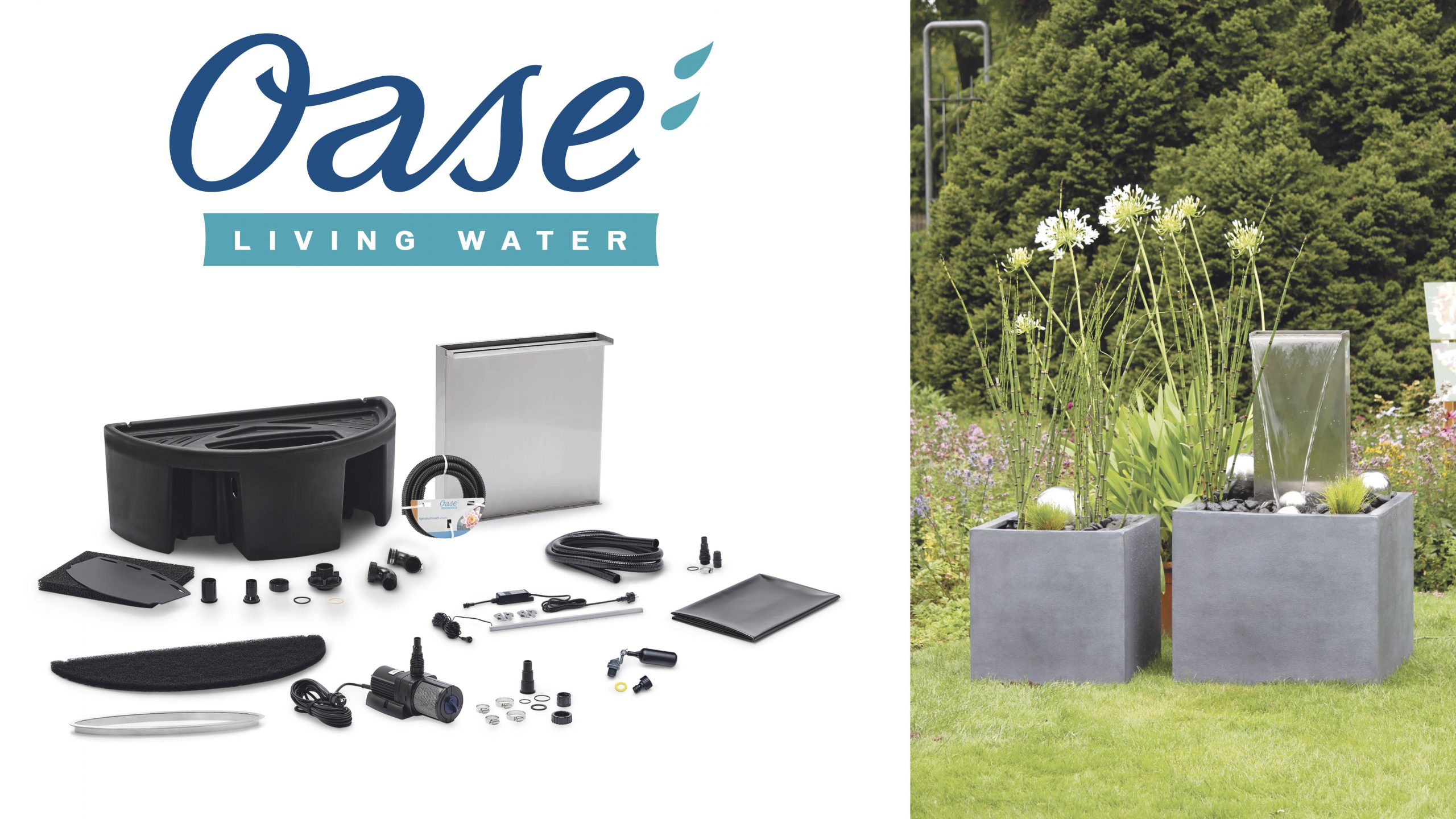 Win a stunning waterfall feature for your garden Worth £1,200!