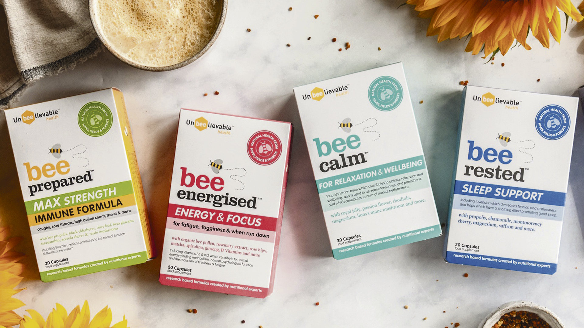 Win natural supplements designed to support your wellbeing Worth £100!