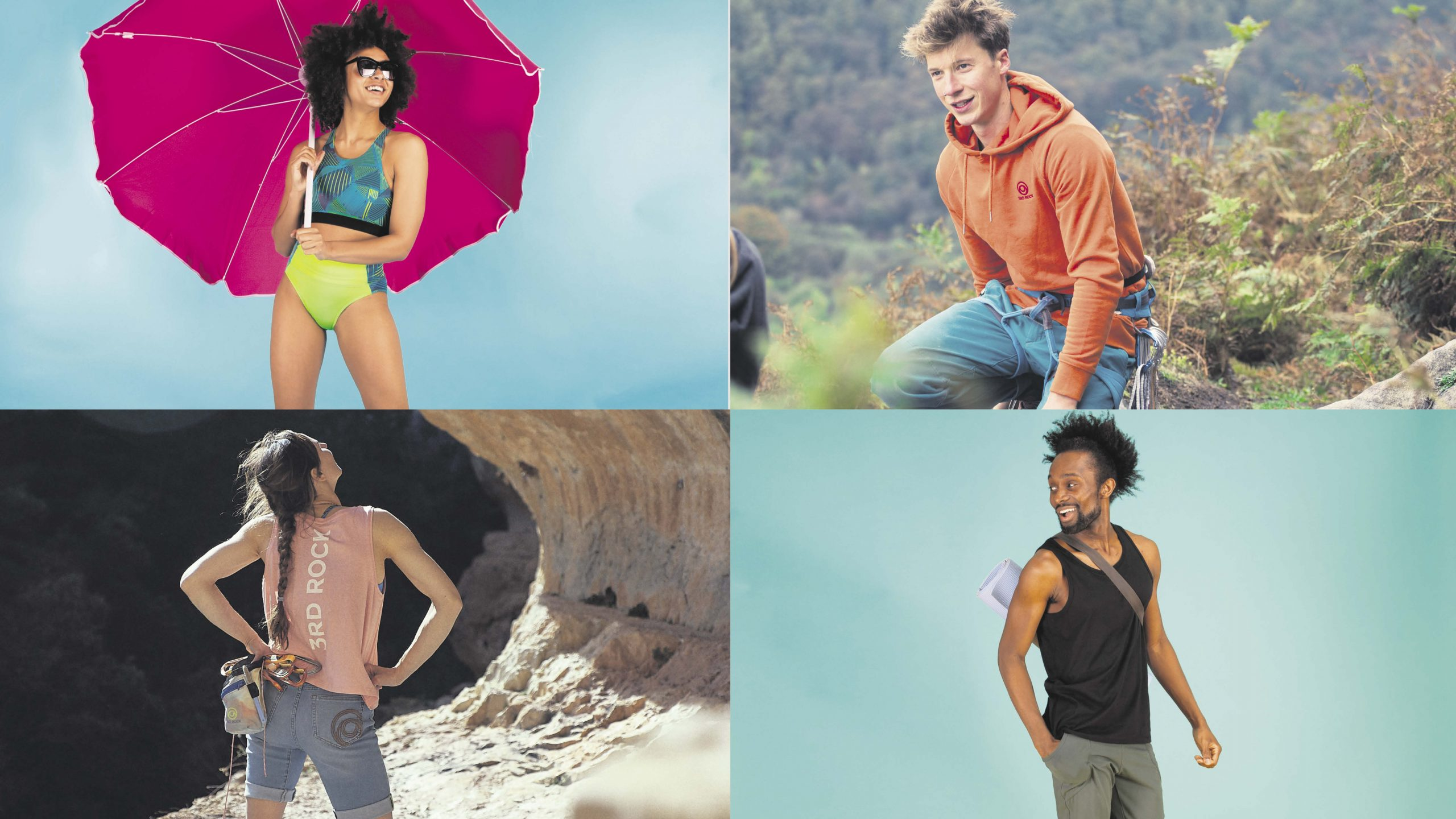 Win your summer wardrobe with 3RD ROCK Worth £150!