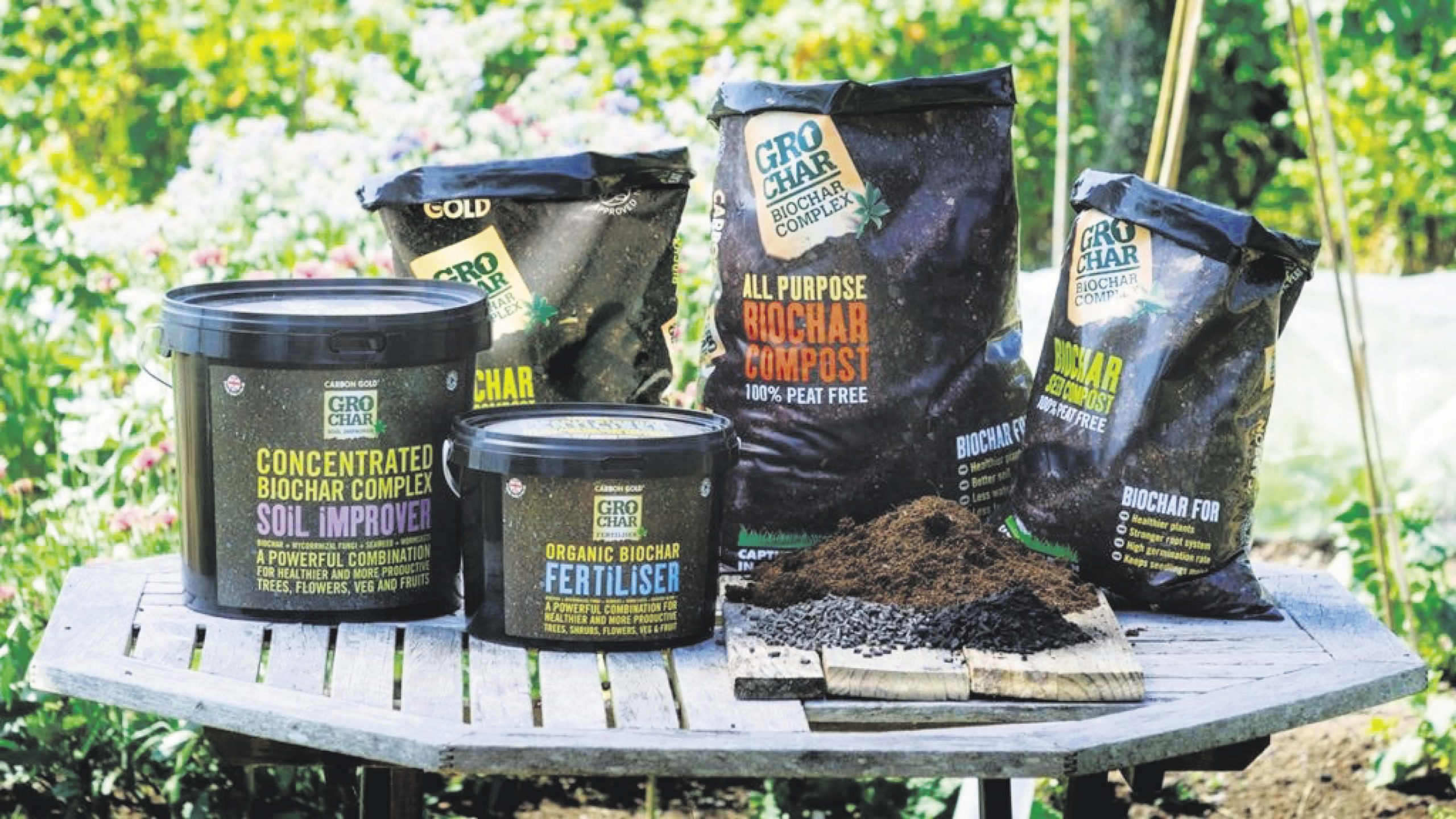 Win one of five Carbon Gold home grower starter packs Worth over £275!