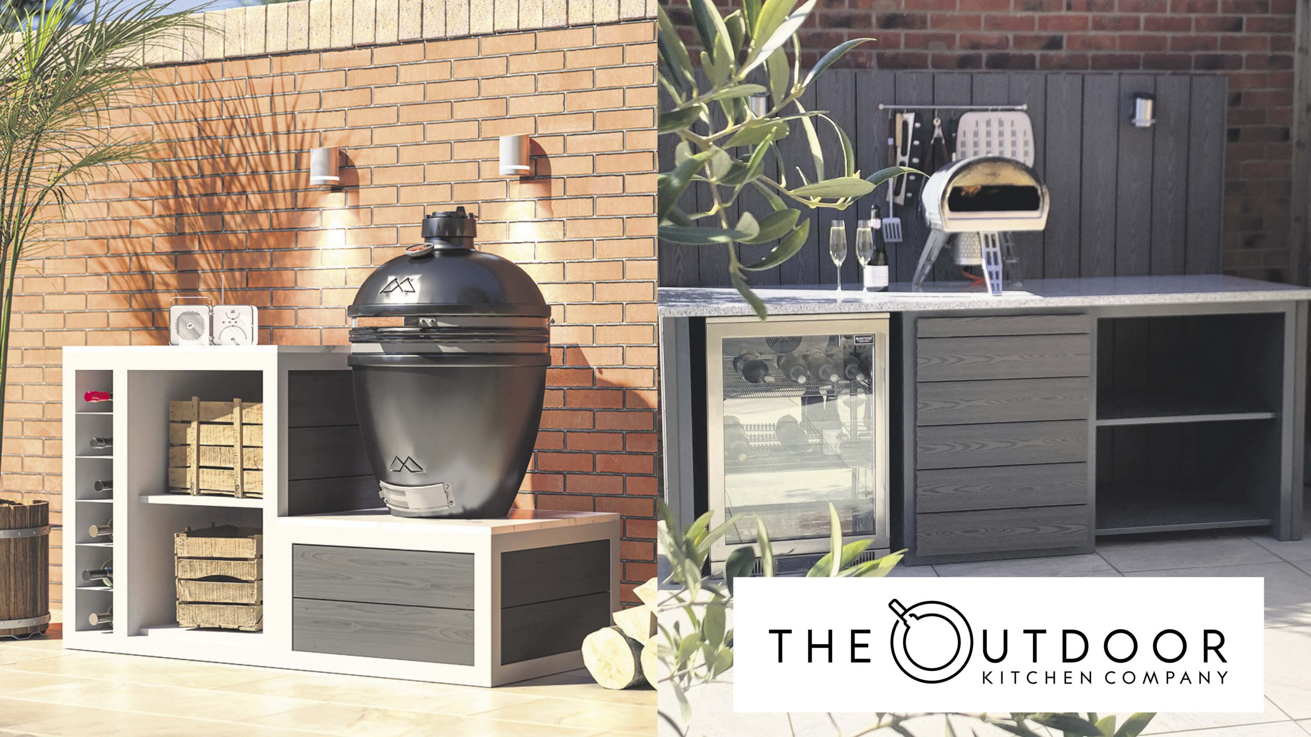 Win a stunning compact Kamado kitchen for your garden Worth £3,100!