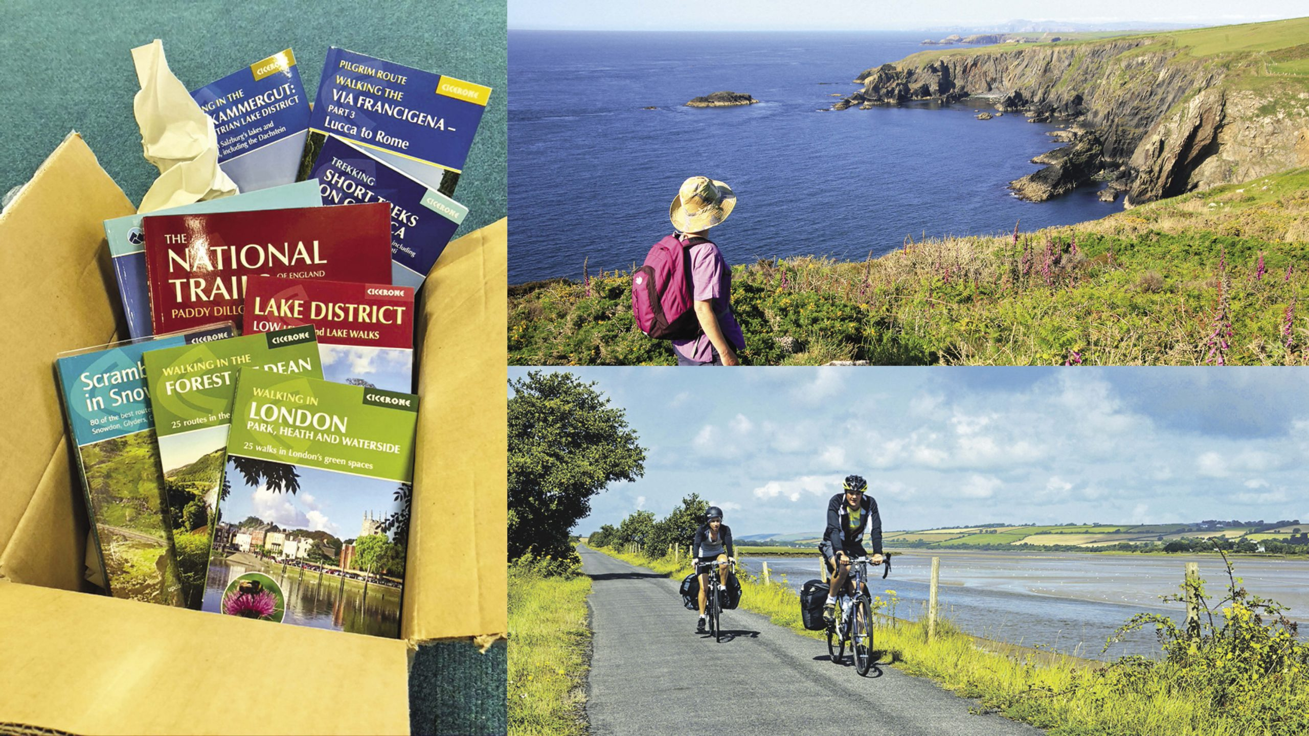 Win a walking guidebook for every month of the year Worth over £150!