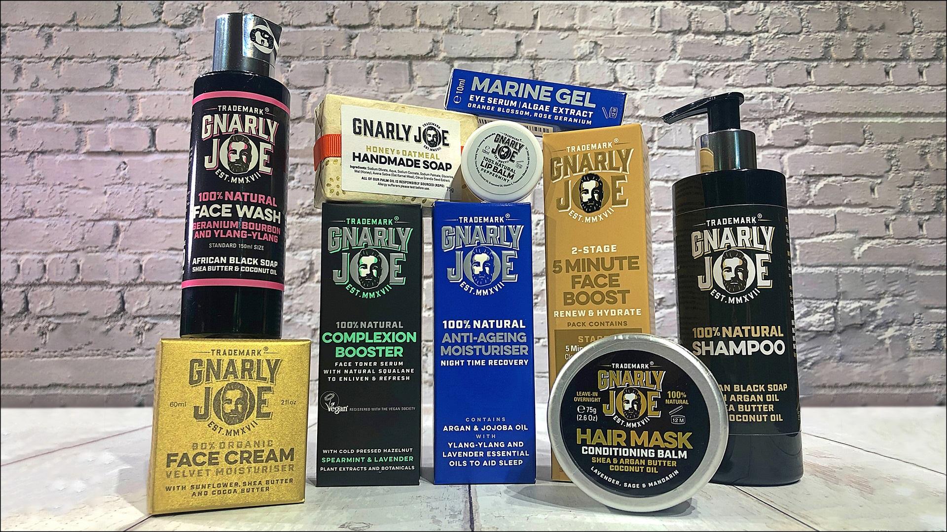 Win a Gnarly Joe natural skincare hamper Worth £193!