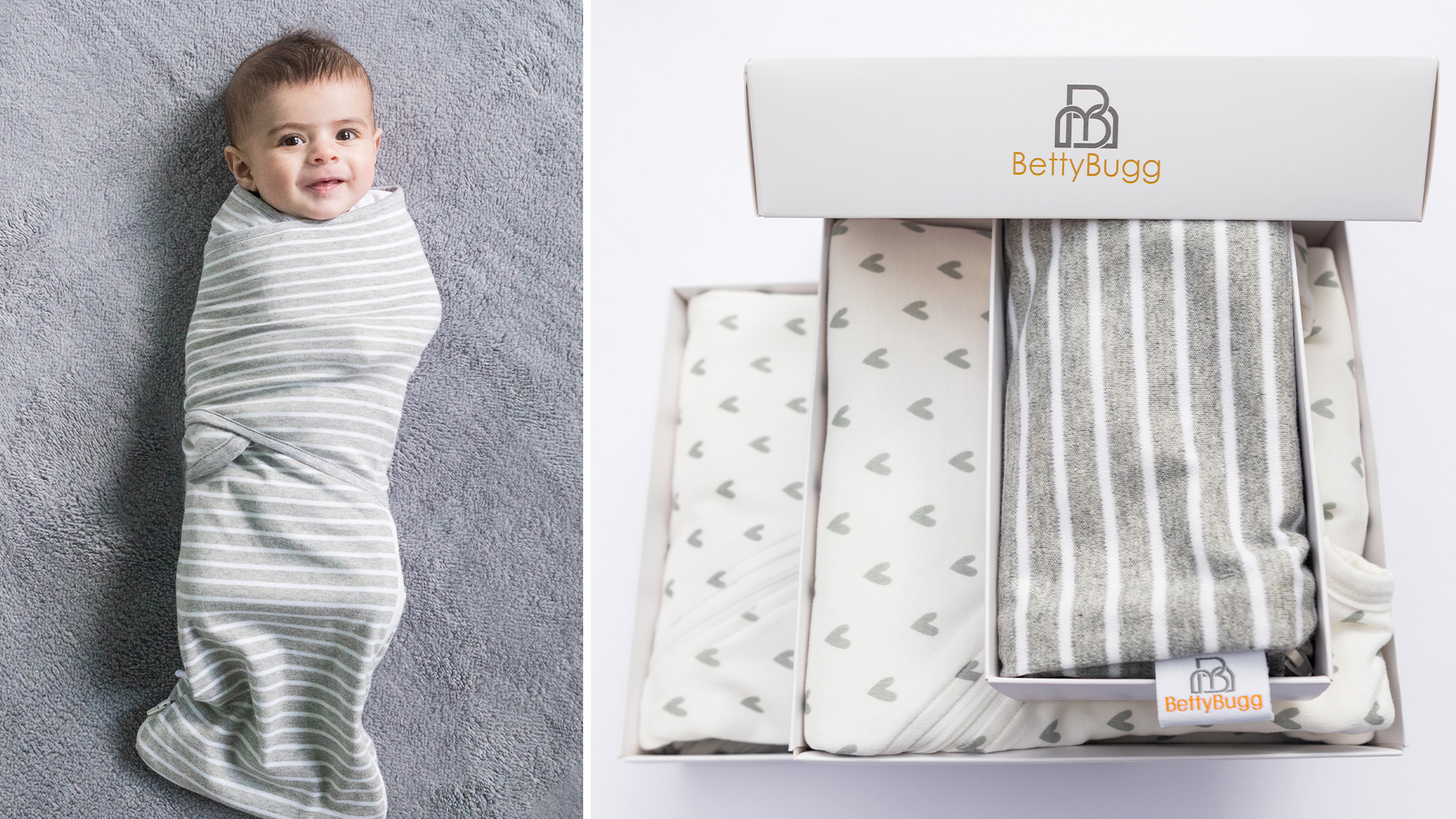 Win two BettyBugg Swaddle Wraps Worth over £21 each!