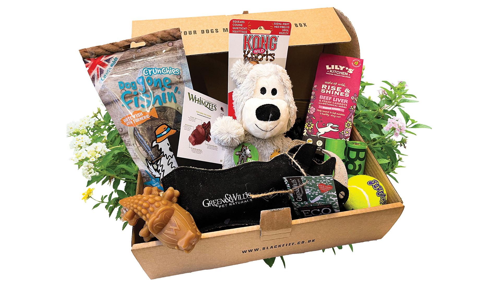 Win a Black Fief mega surprise box Worth over £100!