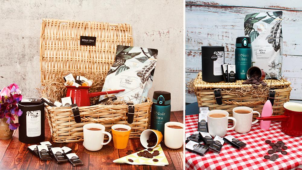 Win a beautiful award-winning hot chocolate hamper Worth over £150!