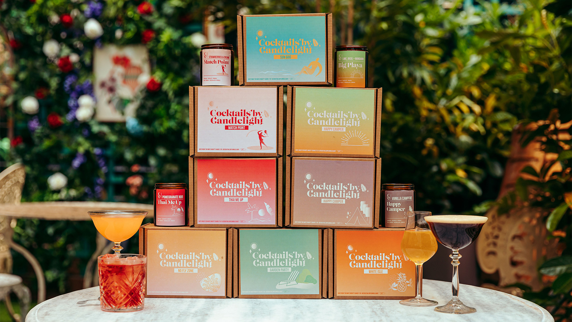 Win the entire Cocktails By Candlelight summer range, Worth £360!
