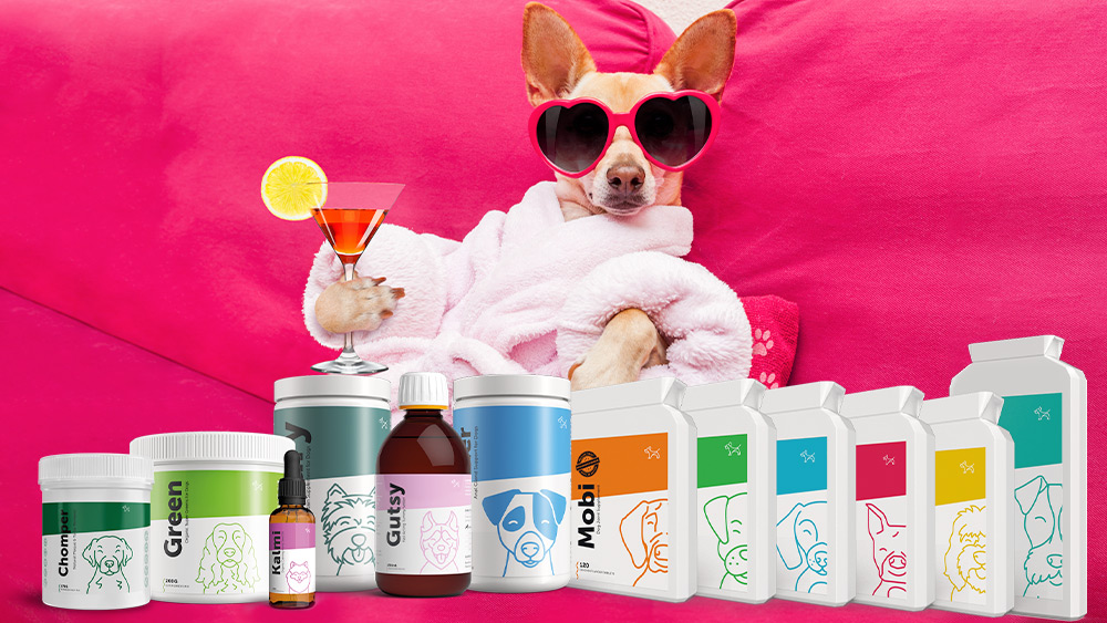 Win a six-month supply* of premium quality natural supplements for dogs  Worth over £100!