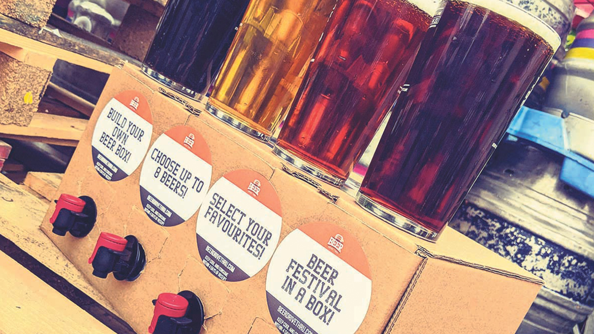 Win beer for a year Worth £600!