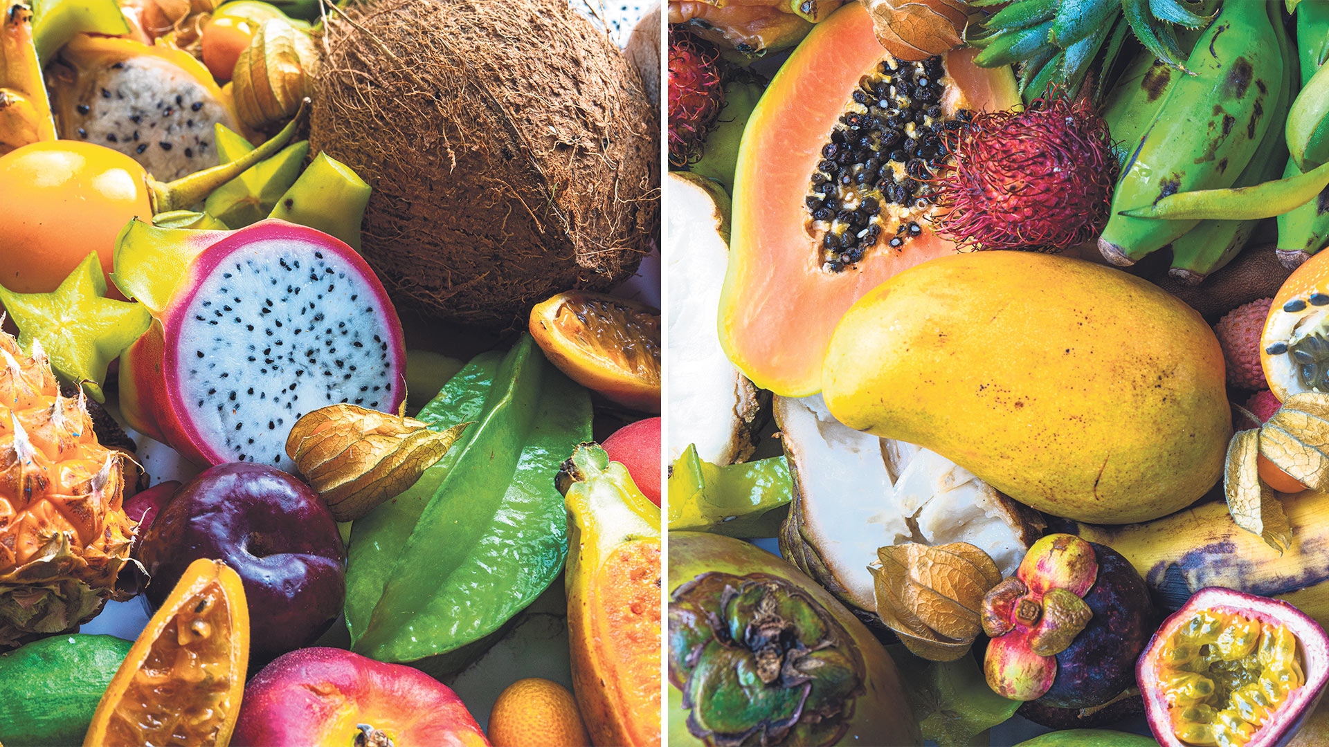 Win a selection of juicy, sweet and ready-to-eat exotic fruit Worth £250!
