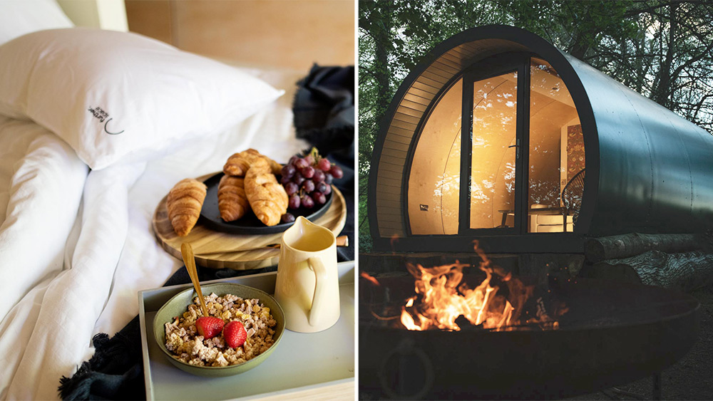 Win a two-night luxury glamping trip including breakfast and a campfire experience, Worth £500!