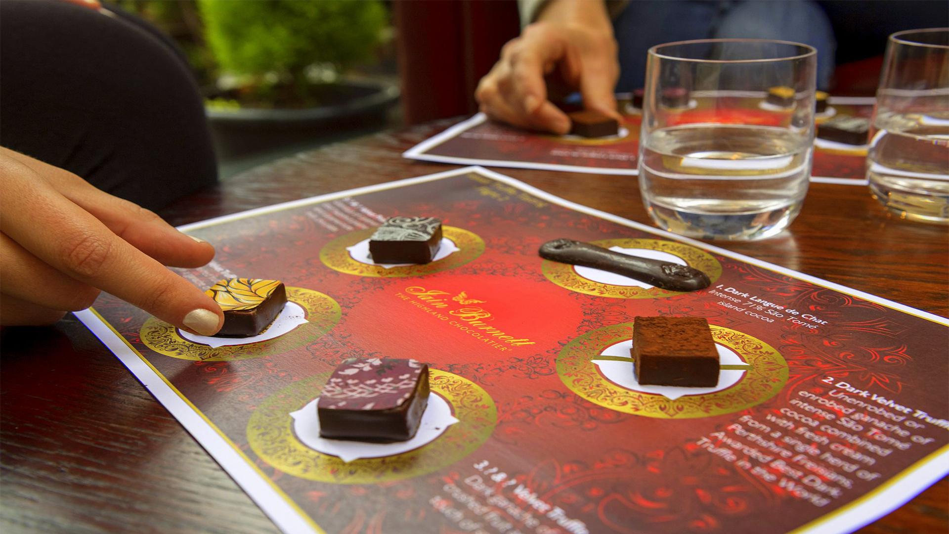 Win Artisan Chocolate Tastings Worth £110!