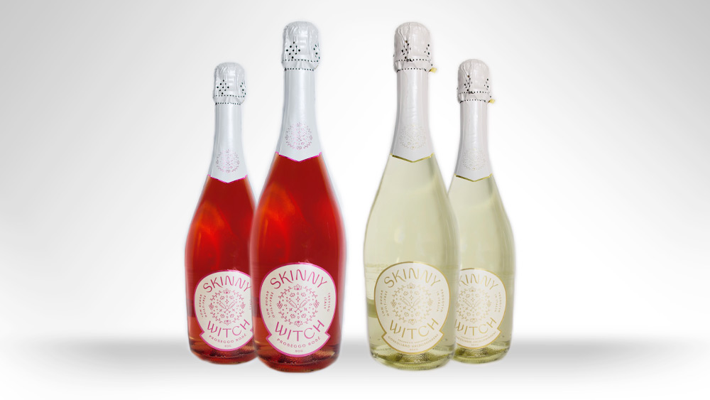 Win two bottles of Skinny Witch – one Brut DOCG and one Rosé Prosecco Worth £50!