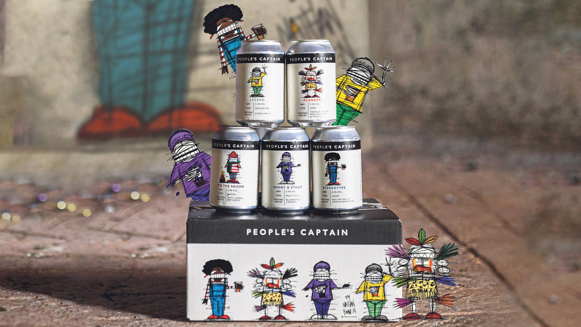 Win 10 boxes of award-winning beer from People's Captain Worth £290!
