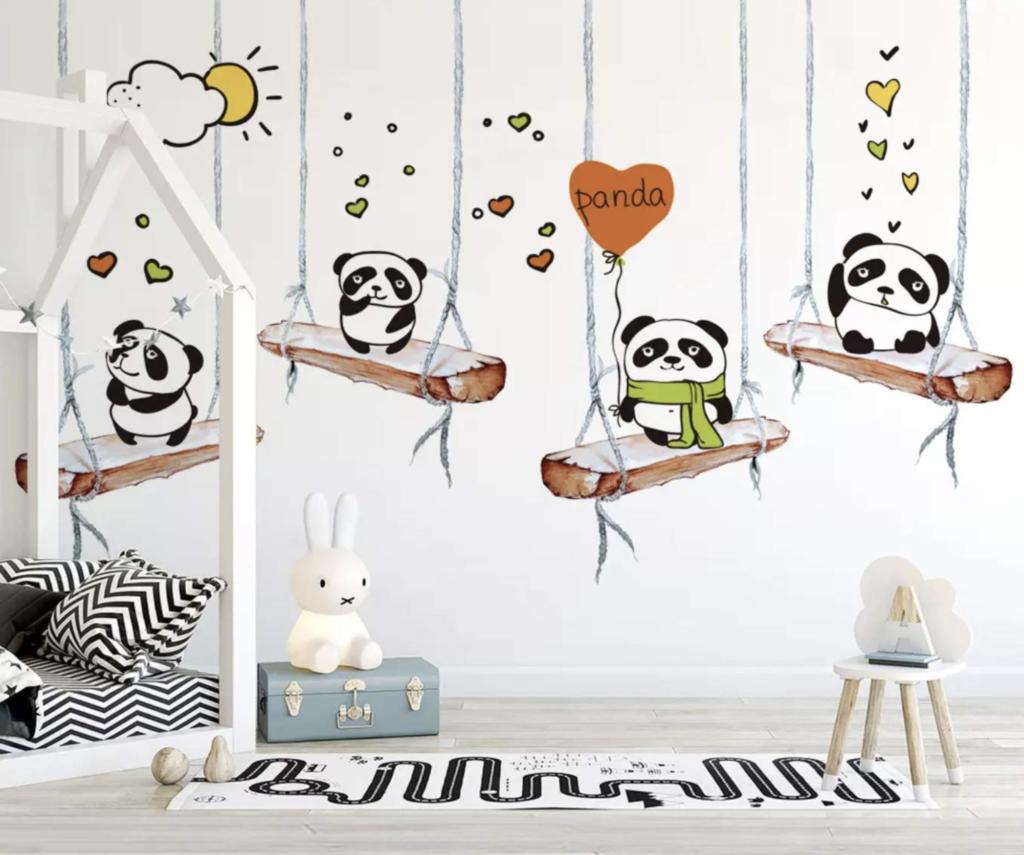 Panda wall decor