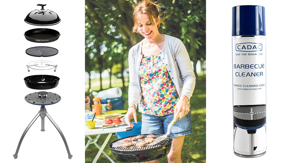 Win a Cadac BBQ and accessories Worth over £350!