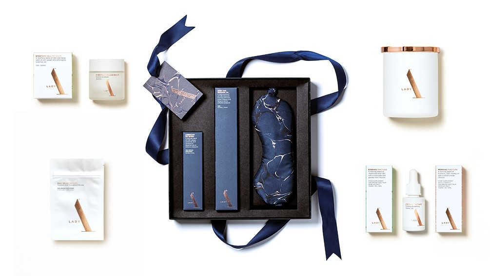 Win Lady A's 'After Dusk' Gift Set and other CBD wellbeing products. Worth £378!