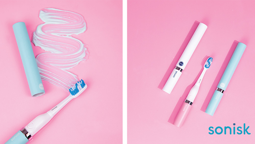 Win a set of Sonisk electric travel  toothbrushes for the whole family Worth £75!