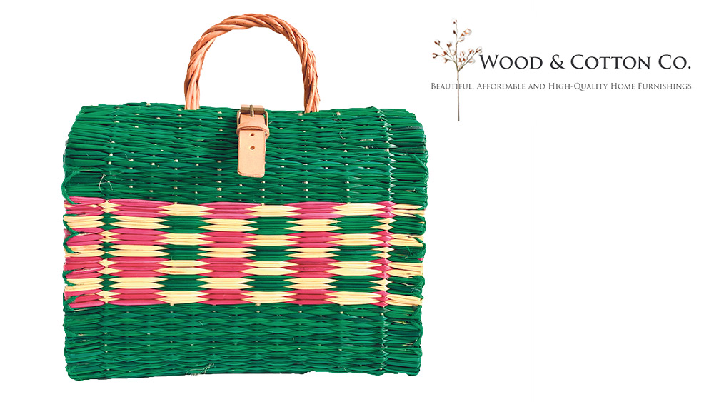 Win a traditional Portuguese reed basket Worth £100!