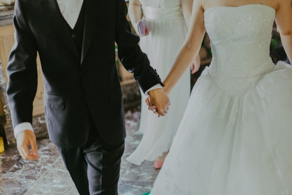 Weddings - Photo by Jeremy Wong from Pexels