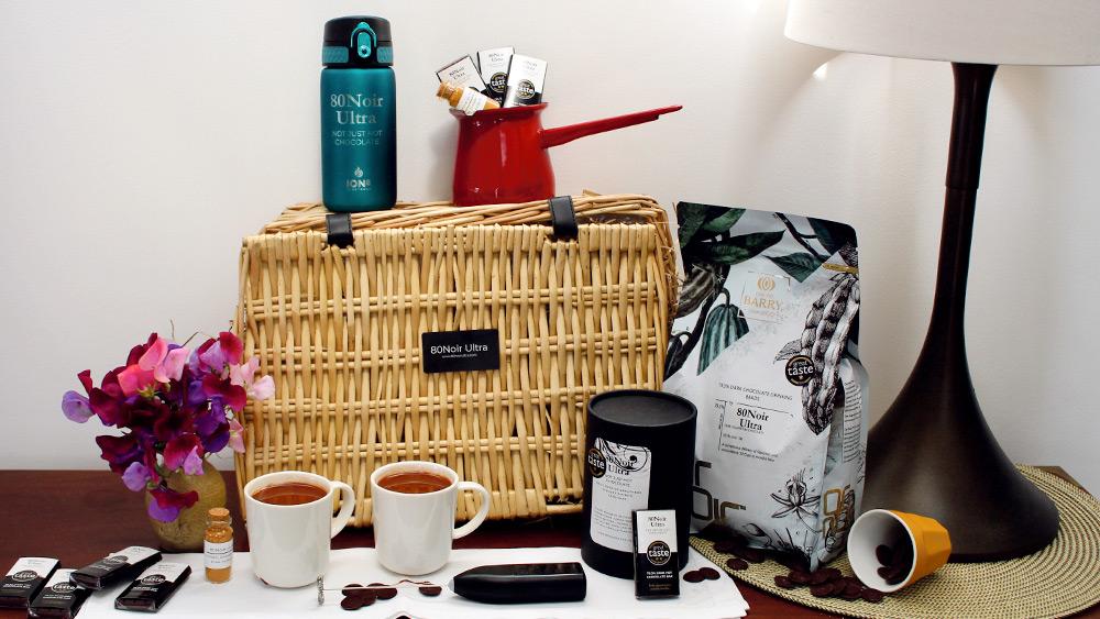 Win a beautiful award-winning hot chocolate hamper, Worth over £150!