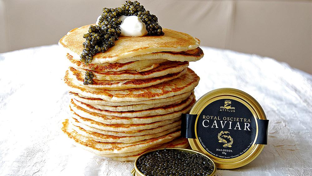 Win 250g of caviar consisting of a tasting set of Royal Siberian and Royal, Worth £249!