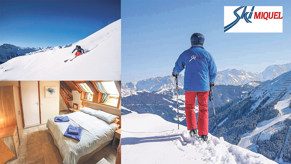 Win a Ski Miquel chalet-hotel snow holiday for two Worth £1,600!